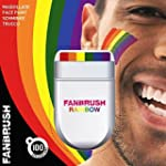 Rainbow Fan Brush Face & Body Paint G...