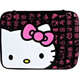 Hello Kitty 16-inch Neoprene Sleeve Case for Laptops/Notebooks in Black