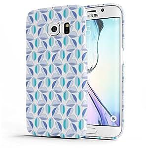 Koveru Back Cover Case for Samsung Galaxy S6 Edge - Violet Pattern