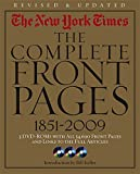 img - for New York Times:The Complete Front Pages 1851-2009 Updated Edition book / textbook / text book