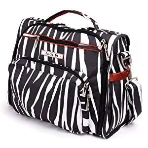 Ju-Ju-Be B.F.F. Messenger Diaper Bag (Safari Stripes)
