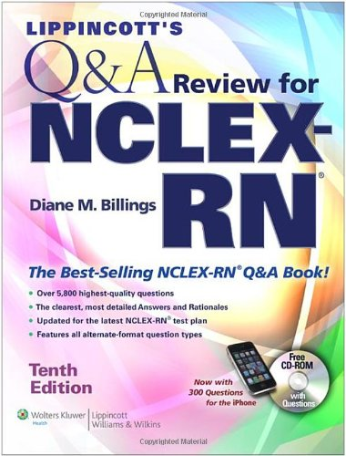 Lippincott'S Q&A Review For Nclex-Rn® (Lippincott'S Q&A Review For Nclex-Rn (W/Cd))