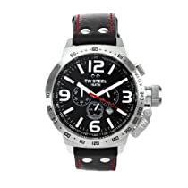 TW Steel Canteen 50mm Black Dial Chronograph Mens Watch TW11