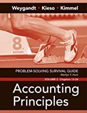 Problem Solving Survival Guide Volume II Chs 13 26 by Weygandt;