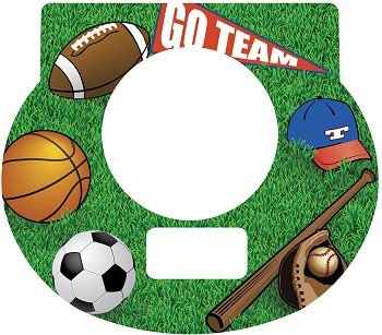 Tot Clock Faceplate: Sports Design - 1