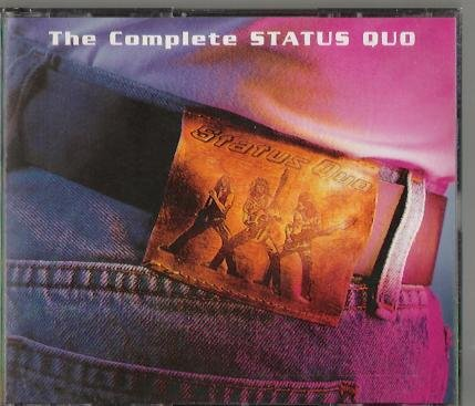 READERS DIGEST THE COMPLETE STATUS QUO 4 CD BOXSET (72 TRACKS)