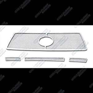 Fits 2010-2013 Toyota Tundra Stainless Steel Mesh Grille Grill Insert Combo # T71008T