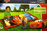 Disney Pixar Cars 2 Piece Camp Combo - Sleeping Bag and Backpack