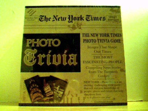 The New York Times Photo Trivia Games