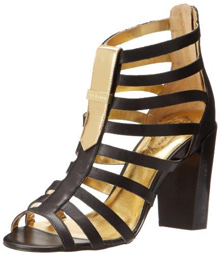 Ted Baker Women'S Aramella Gladiator Sandal,Black,9.5 M Us