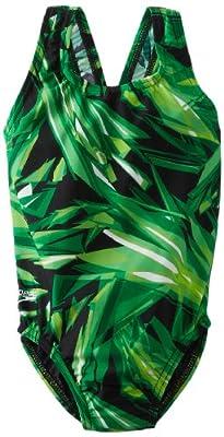 Speedo Big Girls' Youth Vortex Superpro Xtra Life Lycra Swimsuit