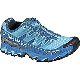 La Sportiva Ultra Raptor Trail Running Shoe - Women\'s Fjord/Malibu Blue, 40.0