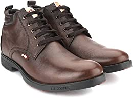 Lee Cooper Brown Casual Shoes B01MTTK279