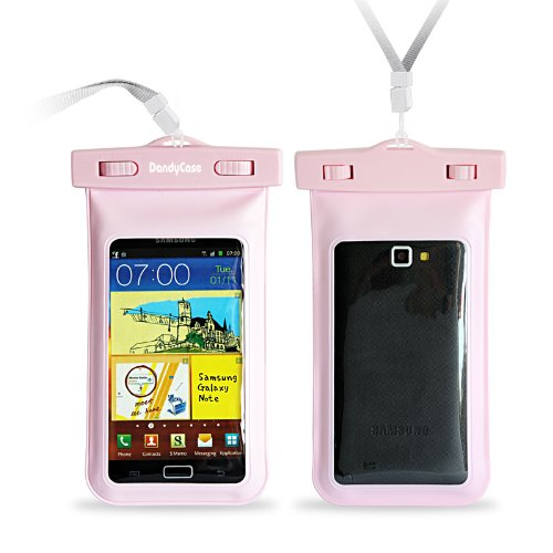DandyCase Pink Waterproof Case for Apple iPhone