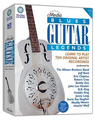 eMedia Blues Guitar Legends
