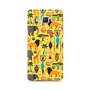 Motivatebox- Tribal Africa Premium Printed Case For Samsung A5 -Matte Polycarbonate 3D Hard case Mobile Cell Phone Protective BACK CASE COVER. Hard Shockproof Scratch-
