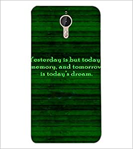PrintDhaba Quote D-4918 Back Case Cover for LETV (LE ECO) LE 1 PRO (Multi-Coloured)