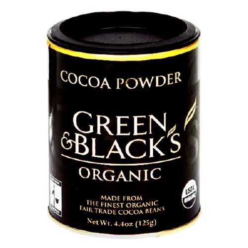 Buy Green and Black Organic Cocoa Powder, 4.4-Ounce Jar (Pack of 5) (Green & Black, Health & Personal Care, Products, Food & Snacks, Natural & Organic Food)