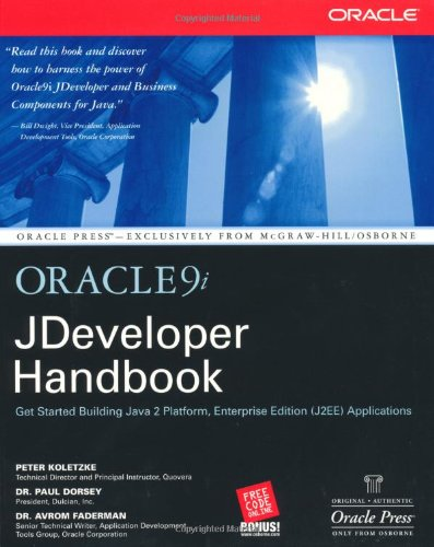 Oracle9i JDeveloper Handbook