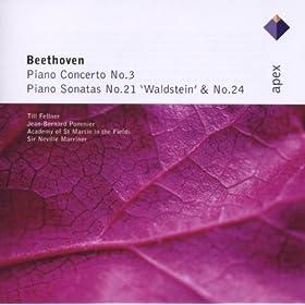 Beethoven : Piano Concerto No.3 & Piano Sonatas Nos 21 & 24 - Apex