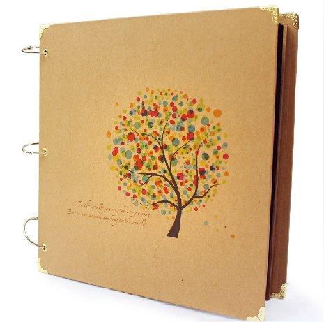 Cuaderno Scrapbooking  con portadas decoradas