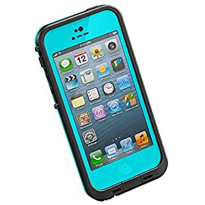New Waterproof Shockproof Dirtproof Snowproof Protection Case Cover for Apple Iphone 5 Teal