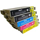 5 CiberDirect Compatible Ink Cartridges for use with Epson Stylus C66 Printers.