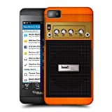 Head Case Designs Orange Chorus Guitar Amp Protective Snap on Hard Back Case Cover for BlackBerry Z10