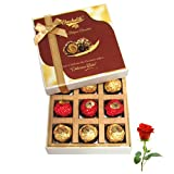 Luxury Treat To Your Love With Rose - Chocholik Luxury Chocolates