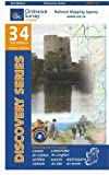 Ordnance Survey Ireland Cavan, Leitrim, Longford, Meath, Westmeath (Irish Discovery Series)