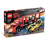 8160 * CRUNCHER BLOCK & RACER X * LEGO Speed Racer Series 367 Piece Building Set (Includes 4 LEGO Minifigures & Missile Launching Action))