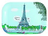 """Les Terrasses Parisiennes SB970G pequeña bandeja de """"Tour Eiffel"""""""
