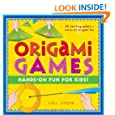 Origami Games: Hands-On Fun For Kids! [Origami Book with 22 games, 21 Foldable Pieces]