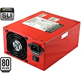 PC Power and Cooling S75CF Silencer 750W Quad Power Supply Ati Crossfire and 80+ Certified (Red) ~ OCZ
