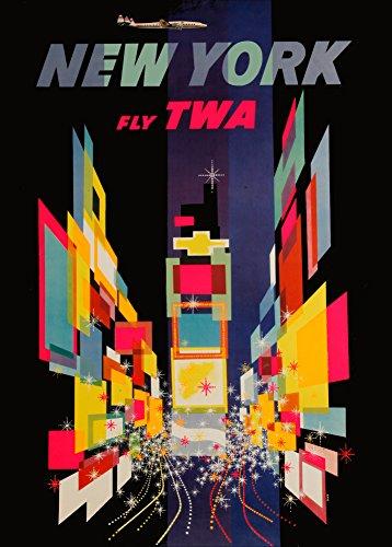 la-america-de-viaje-a-nueva-york-con-twa-250gsm-tarjeta-del-arte-polarmk-a3-poster