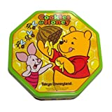 くまのプーさん 缶入りクッキー&ハニー お菓子【東京ディズニーランド限定】
