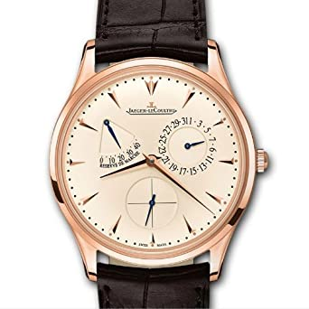 Jaeger LeCoultre Ultra Thin Reserve de Marche Automatic Rose Gold Mens Watch Q1372520