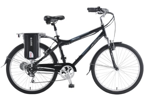 EZIP Trailz Commuter Diamond Frame Electric Bicycle - Black