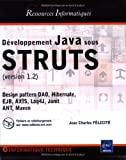 Dveloppement Java sous STRUTS : Version 1.2