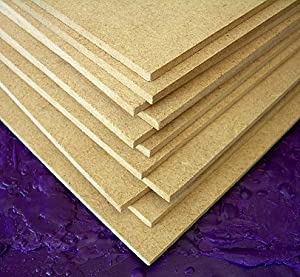 Hardboard Masonite Panel- 18x24x1/8 Inch - Pack of 5