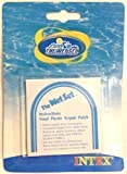 Intex - Patch de réparation adhésif en vinyle pour piscines gonflables - Lot de 6