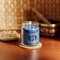 Resonance Meditation Candles - Third Eye Chakra Natural Wax Medium Jar Candle
