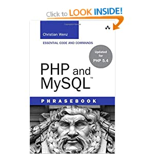 PHP and MySQL Phrasebook (Developer's Library)