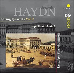 Haydn: String Quartets, Vol. 2: Op. 50 Nos. 1, 4, 5
