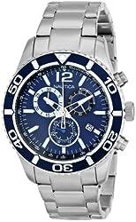 Nautica Men's N16665G NST 09 Stainless Steel Watch