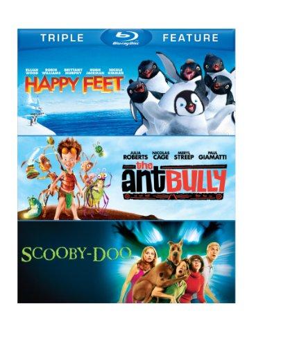 Happy Feet/Ant Bully, The/ Scooby-Doo: The Movie (BD) (3FE) [Blu-ray]
