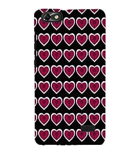 EPICCASE lollipop hearts Mobile Back Case Cover For Xiaomi Redmi Mi4c (Designer Case)
