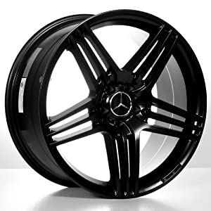 "Amazon.com: 20"" Amg Mercedes Benz Wheels - 20X8.5 20X9.5 Staggered"