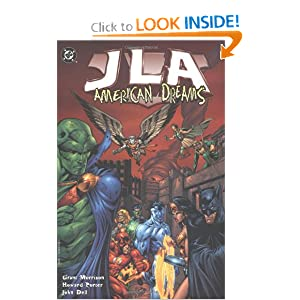 JLA (Book 2): American Dreams by Grant Morrison, John Dell and Howard Porter