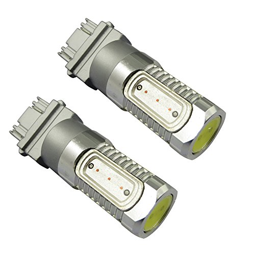 Toppower 3157 T25 Switchback White And Yellow High Power 7.5W Led Turn Signal Light